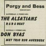 THE ALSATIANS - Dagblad de Stem 4-2-1967