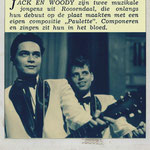 JACK & WOODY: Muziek Parade,  januari 1961