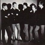 THE GUY (1966) vlnr: Jos van Opstal  - Ton Damen - Ger Raeimakers - Adrie v.d. Broek - John v.d. Wal