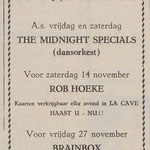 THE MIDNIGHT SPECIALS: De Vlissinger 5-11-1970