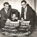 De Charracordi's. vlnr: Kees van de Broek en Wim Laseroms