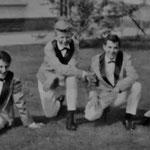 The Kontiki's (1963) vlnr: Frans van Laarhoven, Gilbert Verhelst, Wilfried Cleiren en Wilfried Sluijts