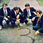 DE FOUR TAK 1971 vlnr: Jules Ketelaars, Jac Geers, Henk Tak, Kees Tak