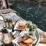 Pause: Marrokkanischer Tee