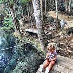 Cenote Crystal y Escondido