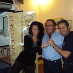 Loris Mazzoletti e Franco Iacca ricevono la targa ricordo