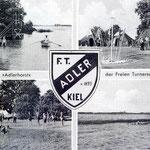 Alte Postkarte 1955