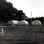 Blick vom Spielplatz in Richtung Zeltrund 1965
