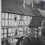 Dammühle, eine Ortsteil von Wehrshausen, heute einem Statdteil von Marburg