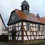 Kirche in Wermertshausen Krs.Marburg