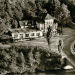 Waldschlösschen Argenstein an der Lahnbrücke, einem Ortsteil von Weimar