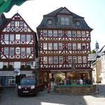 Fachwerkhäuser in Butzbach