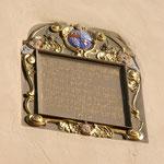 Inschriftentafel zum 40- jährigen Bischofsjubiläum Julius Echters