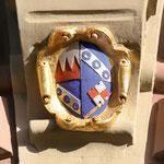 Das Wappen Julius Echters im Hauptportal