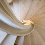 Wendeltreppe: Blick von oben