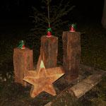 Die Advents - Dekoration sorgte für die vorweihnachtliche Stimmung