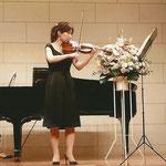 発表会 ソロ演奏 A-durバイオリン・チェロ教室