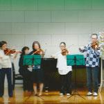 発表会 アンサンブル A-durバイオリン・チェロ教室