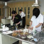 調理補助というボラ活動 From鹿児島