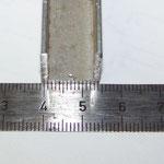 U-Profil 15x15mm, passt genau der Entkuppler rein