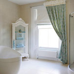 Work carried out to bathroom by Primrose Painting painters and decorators.