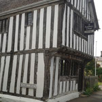 Painting to a genuine tudor building - Ashwell Museum, Ashwell, Herts.