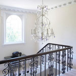 Painting to landing and stairs by Primrose Painting painters and decorators.