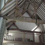 Painting to historic barn conversion, Ashwell, Herts.