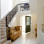 Painting to hallway and stairs by Primrose Painting painters and decorators.