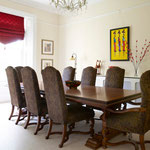 Redecoration of dining room by Primrose Painting painters and decorators.