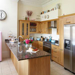 Redecoration to kitchen by Primrose Painting painters and decorators.