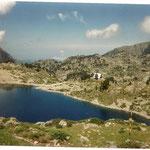 Lac et refuge de Campana de Cloutou 2225 m