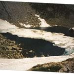 Le lac du pic Arrouy au mois d'août