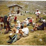 Le refuge de Goritz, au pied du Mont Perdu.