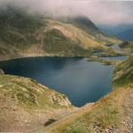 Le lac de Boum 2249 m, sdous le Port de Vénasque ( Luchon )