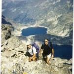 Les lacs d'Arremoulit, vu du pic d'Ariel