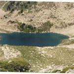 En montant, le lac Long 2326 m