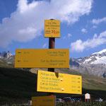 Sur le T.M.B (tour du Mont Blanc )