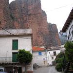 Le village de Riglos