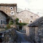 Le village de Bestué (Aragon )