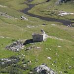 Cabane de la vierge de Troumouse 2105 m.