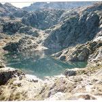 Un des lacs de La Glère après le refuge du même nom