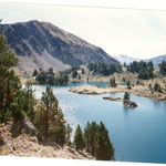 Le lac du Milieu 2215 m