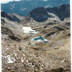 Les lacs de la Muña, coté Aragon, vus du col de même nom.