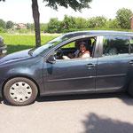 7. Juli 2013 - Die Frankenkutsche - Umzugsteilnehmer reisen an