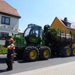 7. Juli 2013 - Technik die zum Thüringer Wald gehört
