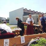 """7. Juli 2013 - Die Musiker und Instrumentenbauer """"stimmen"""""""