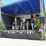 7. Juli 2013 - Bühnen-Generalprobe zum Frühschoppen am Sonntag