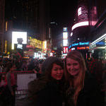 Time Square mit Lisa