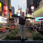 auf dem Time Square